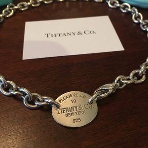 Tiffany&Co Necklace💙